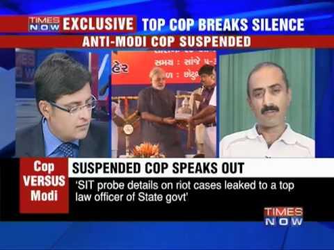 Top cop breaks silence