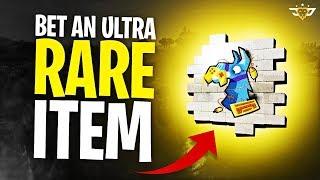HUGE ULTRA RARE SPRAY BET! HE FREAKED OUT! - Random Duos! (Fortnite: Battle Royale)