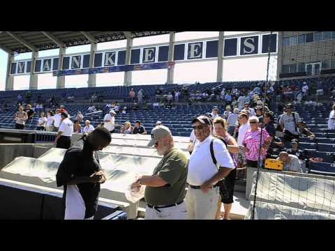 Yankee fans descend on Steinbrenner Field