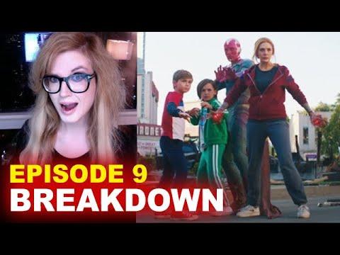 WandaVision Episode 9 BREAKDOWN! Spoilers! Easter Eggs & Ending Explained! - Beyond The