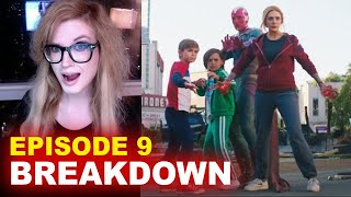 WandaVision Episode 9 BREAKDOWN! Spoilers! Easter Eggs & Ending Explained!