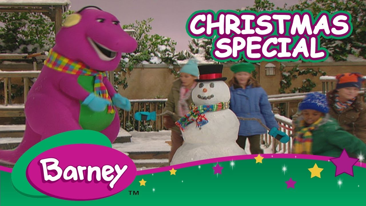 ❄ 🎄 Barney\'s Christmas Special (Full Episode) 🎄❄ - YouTube