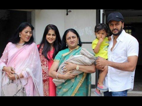Genelia D'Souza And Riteish Deshmukh Second Baby ,Ritesh ...