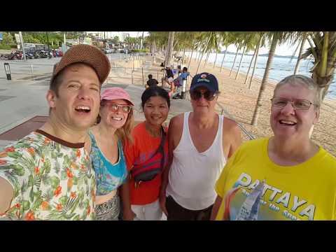 Walking Jomtien/Dongtan Beach 27 Sept 2017  construction updates) Jomtien Walking Group Pattaya