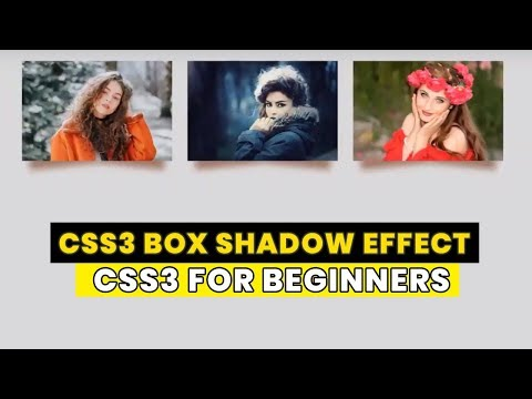 CSS3 Box Shadow Effect | Tutorial for Beginners