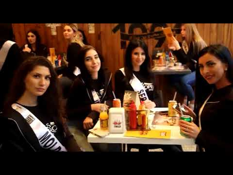 Miss Europe World 2018 1st Week in Lebanon