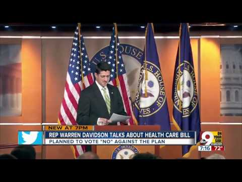 Rep. Warren Davidson talks opposition to AHCA
