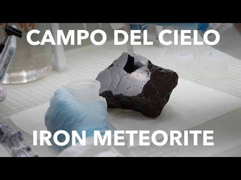 Campo del Cielo: Etching an Iron Meteorite