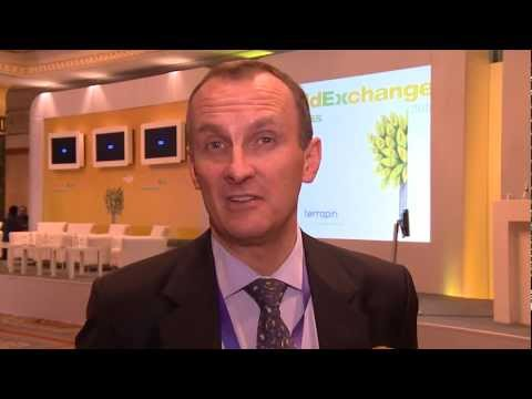 Brian Taylor of BTA Consulting networks with over 200 executives at the World Exchange Congress 2012
