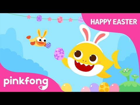 Baby Shark's Happy Easter | @Baby Shark Official  | Pinkfong Songs for children