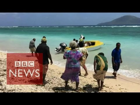 Vanuatu: Residents on Pacific island 'must move' (360 video) - BBC News
