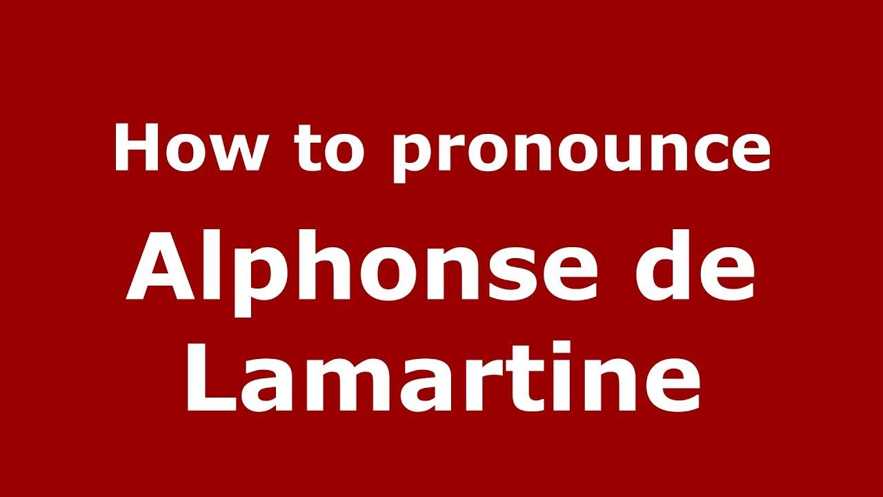 Come si pronuncia # Rue Lamartine - YouTube