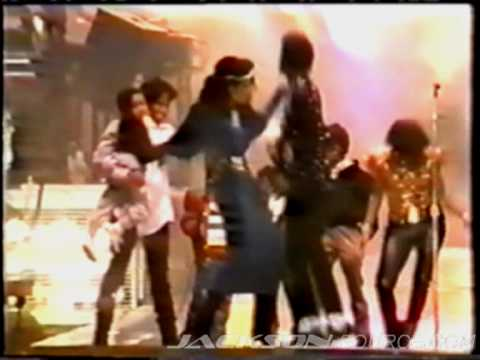 Taj @ Jacksons TV Show 1977 & 3T on stage @ Victory Tour 1984