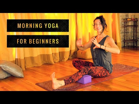 Morning Yoga - Beginners Full Body 20 min Relaxing Deep Stretches