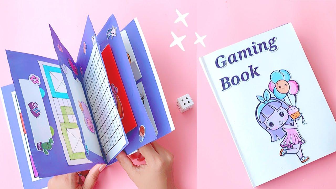 7 Easy Paper Gaming Book Part-2 / DIY Cute Gaming Book Idea / Paper Toys