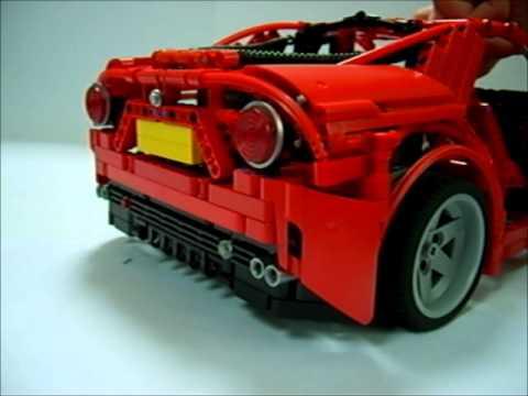 Dark Blue Alfa Romeo 8C | Start Up & Sounds! - YouTube