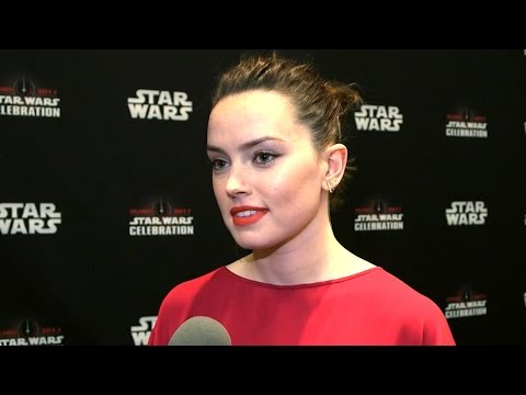 Download Youtube: Daisy Ridley at 'Star Wars Celebration' -- See the Full Interview!