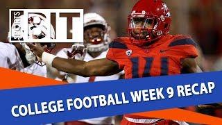 College Football Week 9 Betting Recap   Sports BIT   NCAAF Picks