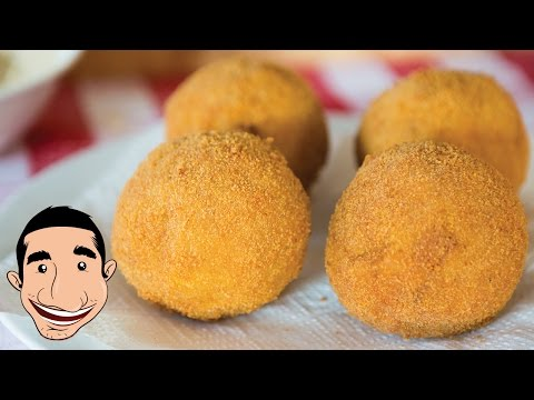 Sicilian Arancini Recipe   Pumpkin Italian Rice Balls   Italian Food Recipes