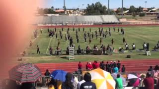 Sierra Linda Bulldog Pride High School Marching Band Gilbert Marching Invitational