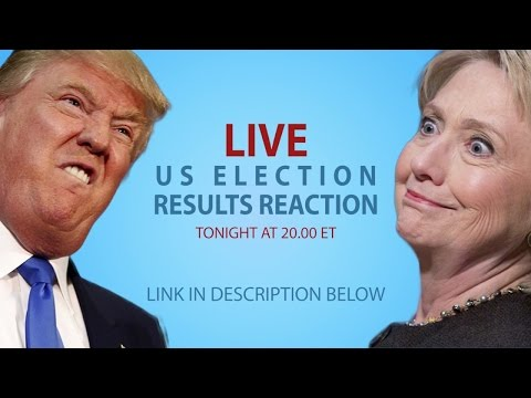 LIVE - Irish People Watch The US Presidential Election Results