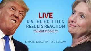 live irish people watch the us presidential election results