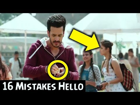 Hello Movie Mistakes | Akhil Akkineni | Kalyani Priyadarshan | MOVIE MISTAKES