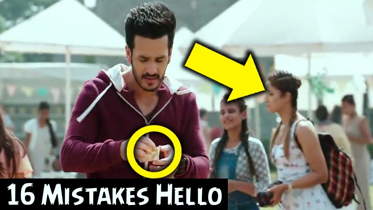 Hello Movie Mistakes | Akhil Akkineni | Kalyani Priyadarshan | MOVIE MISTAKES #1