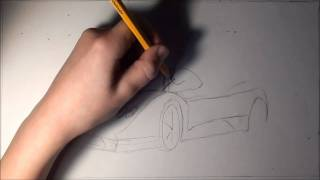 Drawing Pagani Zonda [HD]