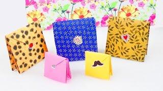 Cách gấp túi giấy gói quà cực kì đơn giản tại nhà