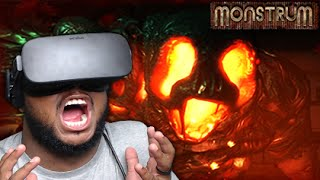 VIRTUAL REALITY HORROR! | Monstrum - OCULUS RIFT