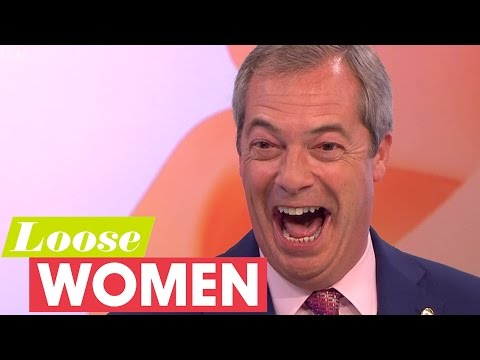 Nigel Farage Gets Asked Out By An Audience Member! | Loose Women