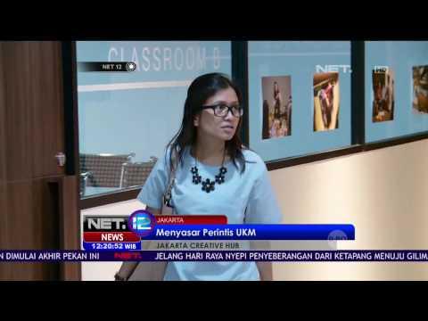 Jakarta Creative Hub, Ruang Kreatif Pelaku Usaha Kecil Menengah - NET12