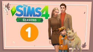 The Sims 4 Времена Года. ツ Родители как дети. - #1