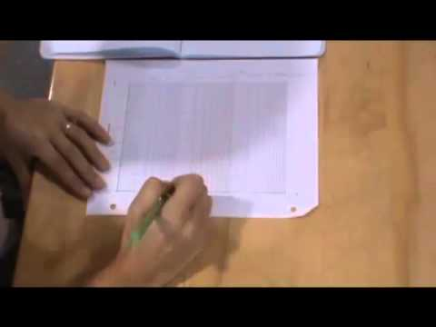 How To Use Semilog Graph Paper - Youtube