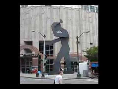 Hammering Man: Seattle Art Museum