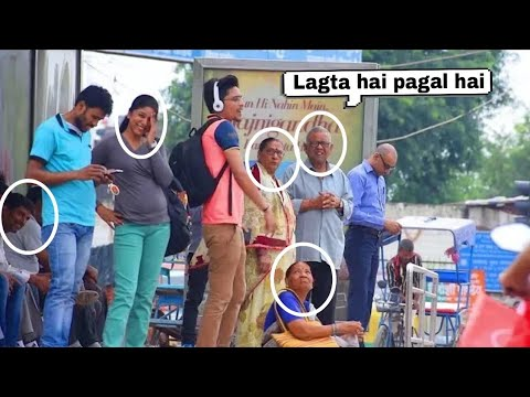 Singing Badly In Public (bhag Bhag DK BOSS)| Funny Prank Video By ANS Entertainment |Pranks In India