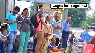 Singing Badly In Public (bhag bhag DK BOSS) Funny Prank Video By ANS Entertainment Pranks in INDIA