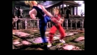 Virtua Fighter 4 Intro