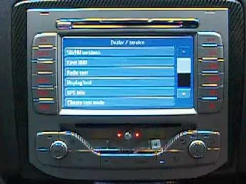 How To Remove The Sat Nav Disc Ford Focus Rs Youtube