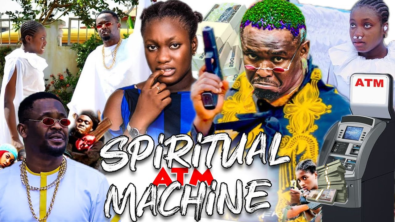 Download Spiritual ATM Machine Complete 3&4 - 2021 New Movies Zubby Michael & Sharon Latest Nollywood Movies