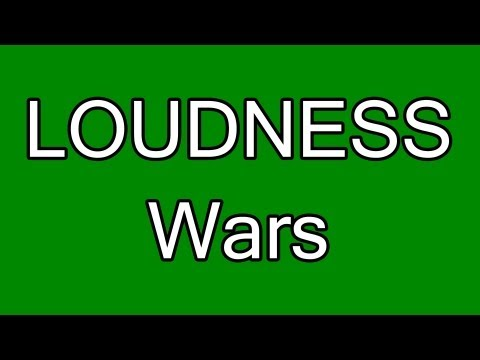 Why Modern Music Sounds Bad - Loudness War