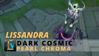 Dark Cosmic Lissandra Pearl Chroma - League Of Legends