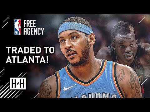 BREAKING: Carmelo Anthony TRADED to Atlanta Hawks | Full Highlights vs Hawks from 2017-18 NBA Season