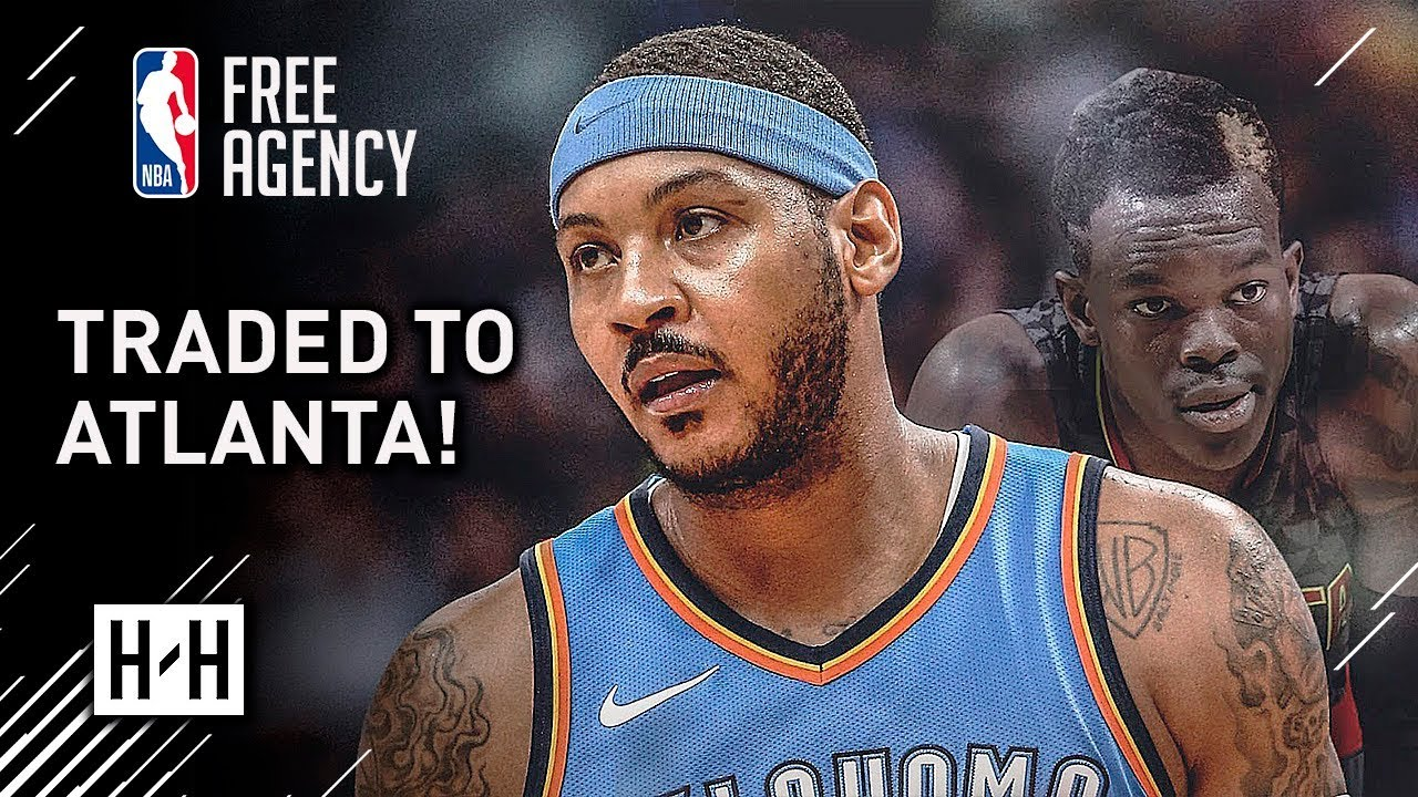 breaking-carmelo-anthony-traded-to-atlanta-hawks-full-highlights-vs-hawks-from-2017-18-nba-season