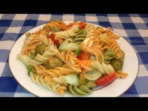 Ensalada Italiana Fría de Pasta - Ohhlala Café ♥