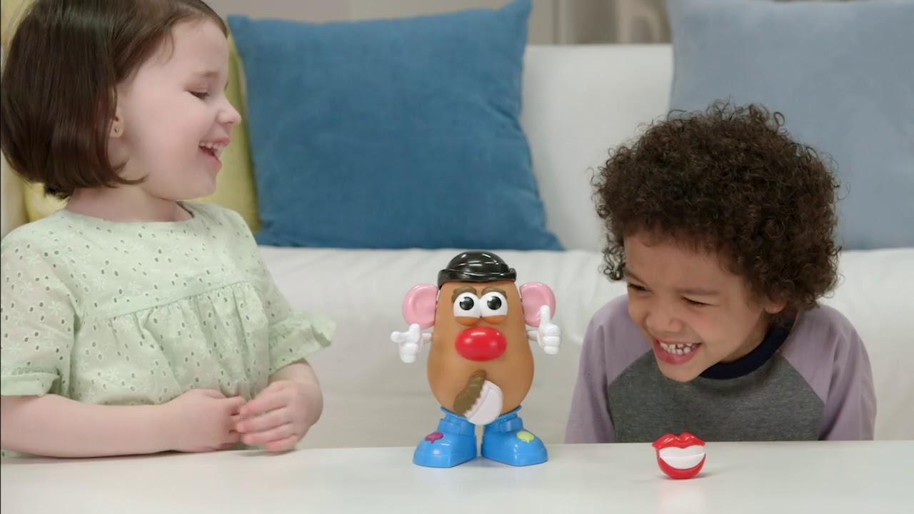 "Potato Head Movin /""Lips électronique Interactive Talking Toy Playskool Mr"