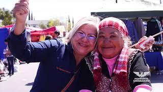 Recorrido por mercado sobre ruedas de Colonia Juárez