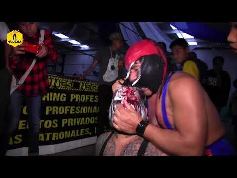 Fuerza Guerrera vs Demus, superlibre en Innova Aztec Power