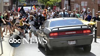 Guilty verdict for man who plowed car into Charlottesville crowd